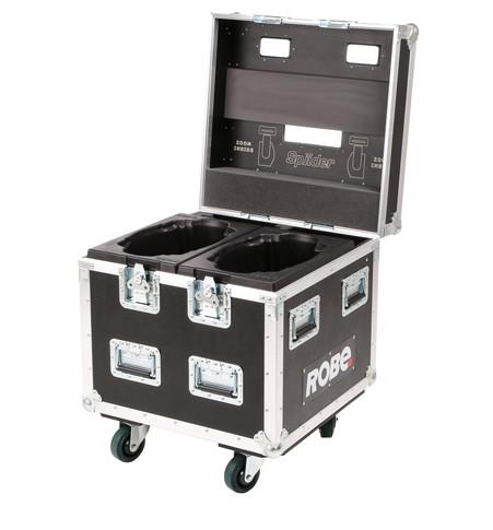 Dual Top Loader Case Spiider® | ROBE lighting