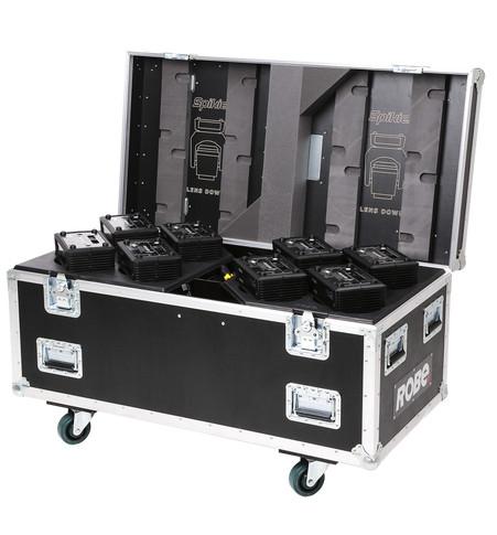 Eight-Pack Top Loader Case Spikie™ | ROBE lighting