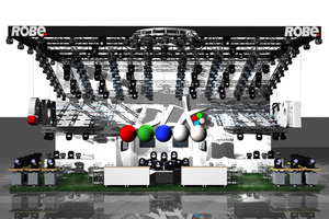 Robe представляет Пять Новых Приборов на выставке Prolight+Sound 2012