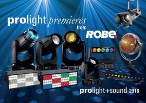 Robe at Prolight+Sound Frankfurt 2016
