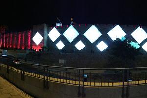 BMFLs Light Up Jerusalem