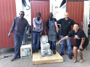 dB Audio Namibia Keep Staff Safe During Lockdown