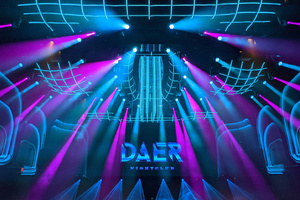 Der DAER Nightclub in FL, Florida, gewinnt einen Mondo Award