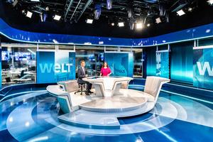 Neue hochmoderne TV-Studios von WELT mit Robe T1 Fresnel ausgestattet