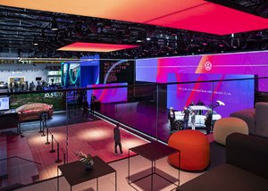 Robe Pushes Forward the Vibrance for VW at IAA Summit 2021 Munich
