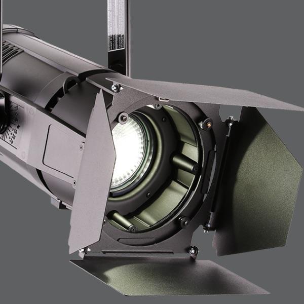 Statische Scheinwerfer mit LED-Lichtquelle
