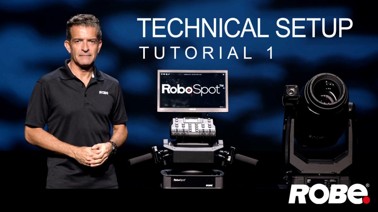 RoboSpot tutorial video 1: overview and setup