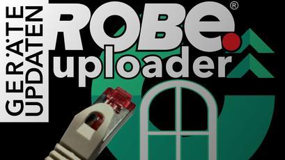 Netzwerk-Konfiguration des Robe Uploader auf Windows 10