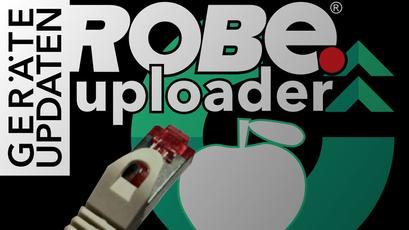Netzwerk-Konfiguration des Robe Uploader auf Apple MacOS