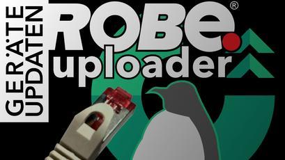 Netzwerk-Konfiguration des Robe Uploader auf Linux