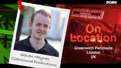 On Location 1 - Steven Haynes at the Greenwich Peninsula, London