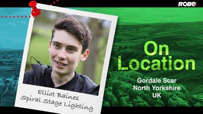 On Location 5 – Elliot Baines at the North Yorkshire - Gordale Scar