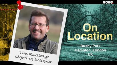 On Location 10 – Tim Routledge at Bushy Park, Richmond, UK