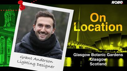 On Location 12 – Grant Anderson at the Botanical Gardens, Glasgow, Scotland