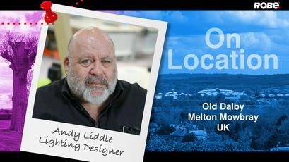 On Location 20 – Andrew Liddle in Old Dalby, Leicestershire, UK
