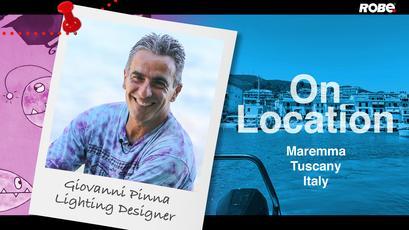 On Location 23 – Giovanni Pinna on the Maremma coast, Tuscany