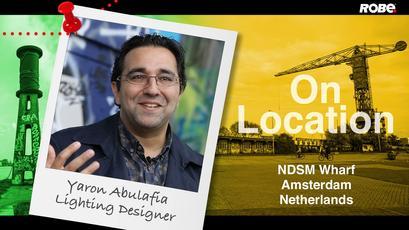 On Location 24 - Yaron Abulafia at NDSM Werft, Amsterdam, Netherlands