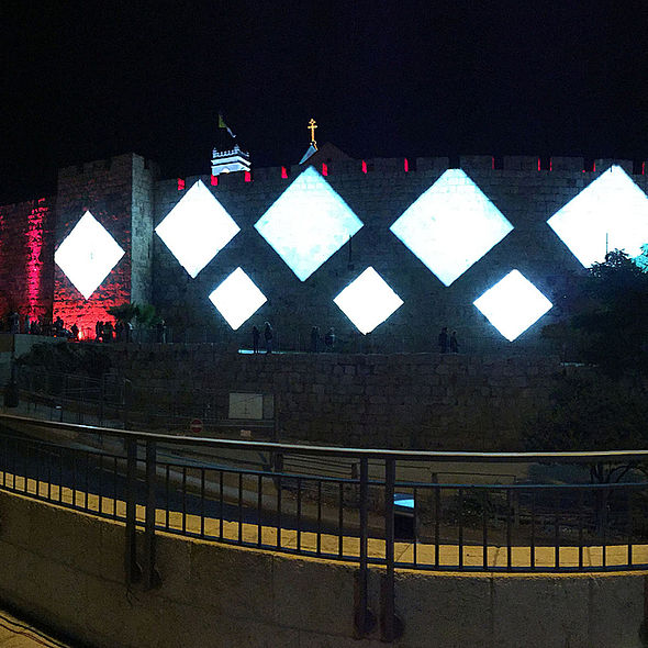 BMFLs Light Up Jerusalem